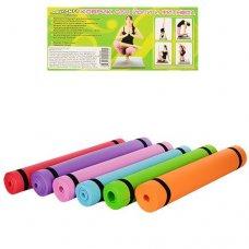 Гимнастический коврик (коврик для фитнеса, йогамат, мат для йоги) M 0380