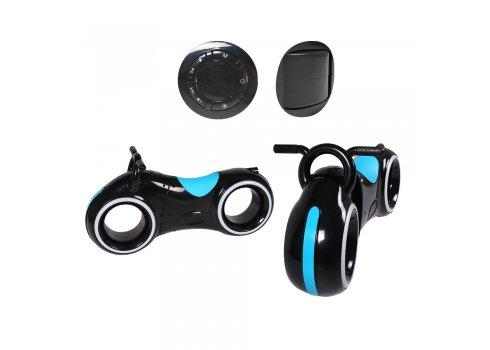 Беговел детский с Bluetooth и LED-подсветка GS-0020 Black/Blue голубой