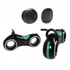 Беговел детский с Bluetooth и LED-подсветка GS-0020 Black/Green бирюзовый