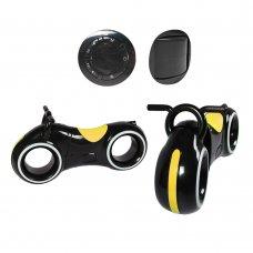 Беговел детский с Bluetooth и LED-подсветка GS-0020 Black/Yellow желтый