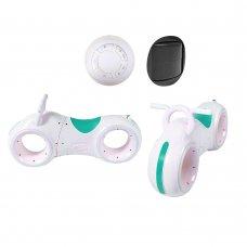 Беговел детский с Bluetooth и LED-подсветка GS-0020 White/Green бирюза