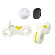 Беговел детский с Bluetooth и LED-подсветка GS-0020 White/Yellow желтый