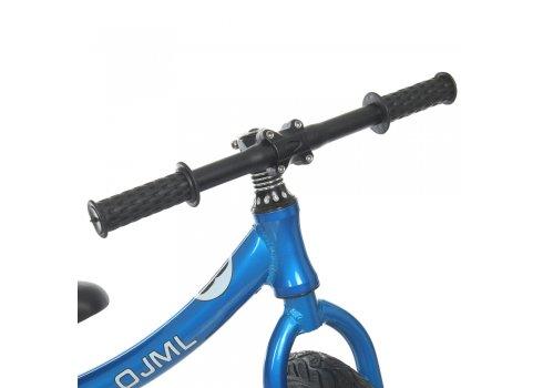 Беговел детский на надувных колесах 12 дюймов ML-0083-1 синий