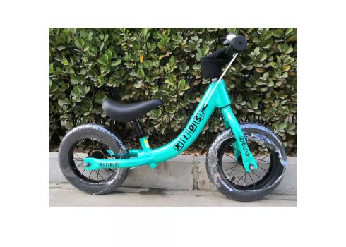 Беговел (велобег) на надувных колесах 12 дюймов W1202-1 бирюза