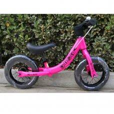 Беговел (велобег) на надувных колесах 12 дюймов W1202-2 розовый