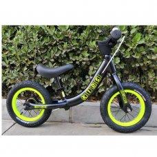 Беговел (велобег) на надувных колесах 12 дюймов W1202-3 черный