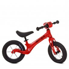 Беговел (велобег) на надувных колесах 12 дюймов SMG1205A-2 красный