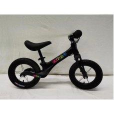 Беговел (велобег) на надувных колесах 12 дюймов SMG1205A-2 черный