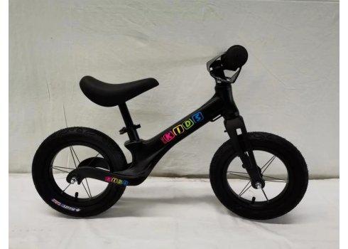 Беговел (велобег) на надувных колесах 12 дюймов SMG1205A-1 черный