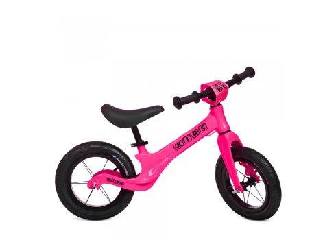 Беговел (велобег) на надувных колесах 12 дюймов SMG1205A-4 розовый