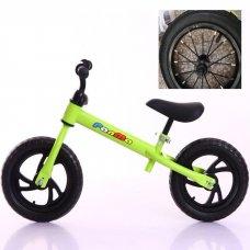 Велобег (беговел) Tilly на надувных колесах T-212514 Green зеленый