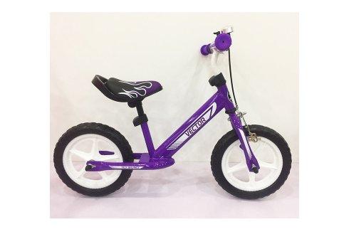 Беговел (велобег) Tilly Balance Vector с ручным тормозом, T-21256 Purple