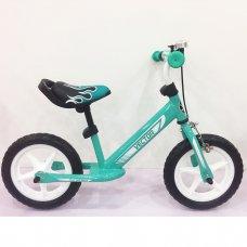 Беговел (велобег) Tilly Balance Vector с ручным тормозом, T-21256 Turquoise