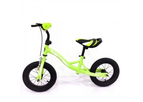 Беговел (велобег) Tilly Balance Compas на надувных колесах, T-21258 Green