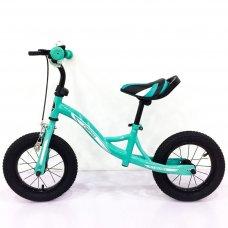 Беговел (велобег) Tilly Balance Compas на надувных колесах, T-21258 Turquoise