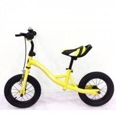 Беговел (велобег) Tilly Balance Compas на надувных колесах, T-21258 Yellow