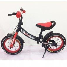 Беговел (велобег) Tilly Balance Matrix на надувных колесах, T-21259 Red