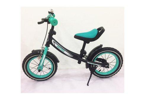 Беговел (велобег) Tilly Balance Matrix на надувных колесах, T-21259 Turquoise