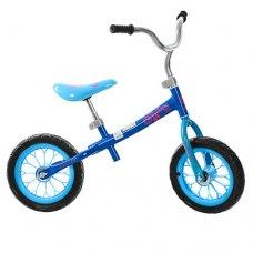 Детский беговел (велобег) 12 дюймов Profi Kids M 3255-2 голубой