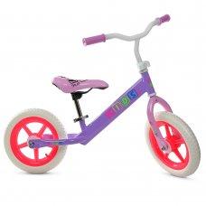 Беговел Profi Kids 12 дюймов EVA колеса, M 3847-1 сиренево-малиновый