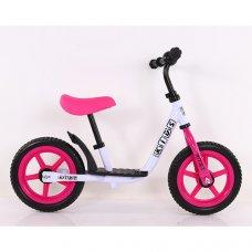 Беговел (велобег) на EVA колесах 12 дюймов PROF1 KIDS M 4067-5 розовый