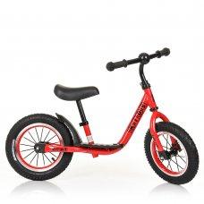 Велобег (беговел) Profi Kids на резиновых колесах M 4067A-1 красный