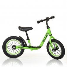 Велобег (беговел) Profi Kids на резиновых колесах M 4067A-2 зеленый