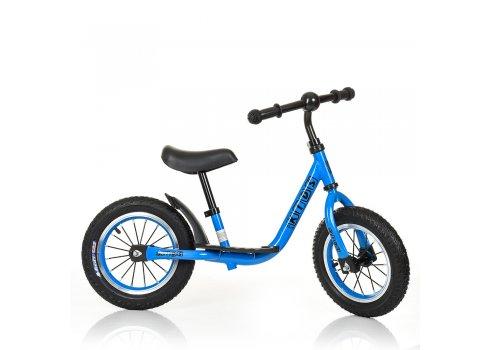 Велобег (беговел) Profi Kids на резиновых колесах M 4067A-3 голубой