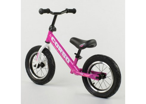 Детский беговел (велобег) Corso 54307 фиолетовый
