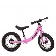 Детский беговел PROF1 KIDS 12 дюймов M 5450A-4 розовый