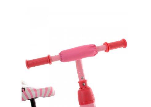 Беговел (велобег) детский 2в1 12 дюймов PROF1 KIDS M 5453-4 розовый
