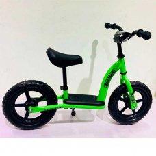 Беговел (велобег) детский 12 дюймов PROF1 KIDS M 5455-2 зеленый