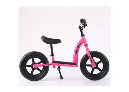 Беговел (велобег) детский 12 дюймов PROF1 KIDS M 5455-4 розовый