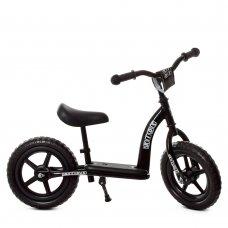 Беговел (велобег) детский 12 дюймов PROF1 KIDS M 5455-6 черный