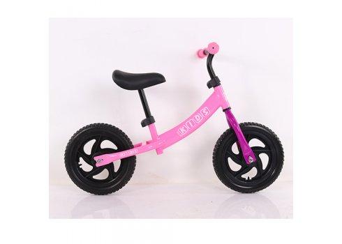 Беговел (велобег) 12 дюймов PROF1 KIDS M 5457-4 розовый