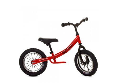 Беговел детский на надувных колесах PROFI KIDS 12 дюймов M 5459A-1 красный