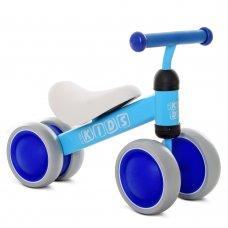 Беговел (велобег) четырехколесный PROF1 KIDS M 5462-3 синий