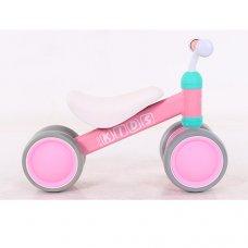 Беговел (велобег) четырехколесный PROF1 KIDS M 5462-4 розовый