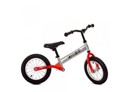 Беговел детский на надувных колесах PROFI KIDS 12 дюймов M 5463A-6 серый