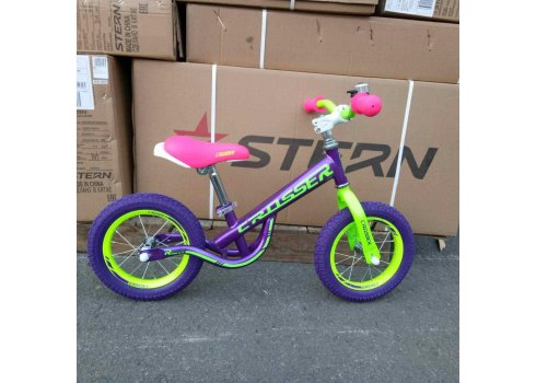 Детский беговел (велобег) Crosser Balance Bike New 14 дюймов фиолетовый