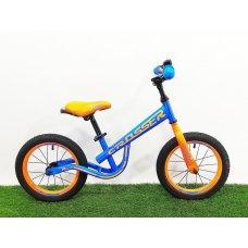 Детский беговел (велобег) Crosser Balance Bike New 12 дюймов синий