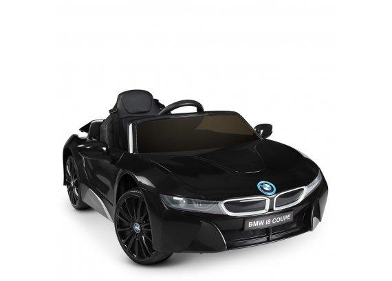 Детский электромобиль BMW i8 Coupe Bambi JE1001EBLR-2 черный