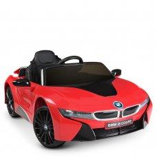 Детский электромобиль BMW i8 Coupe Bambi JE1001EBLR-3 красный