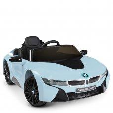Детский электромобиль BMW i8 Coupe Bambi JE1001EBLR-4 синий металлик