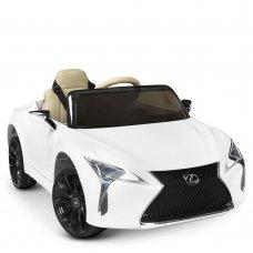 Детский электромобиль Lexus (Лексус) LC 500 Bambi JE1618EBLR-1 белый