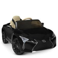 Детский электромобиль Lexus (Лексус) LC 500 Bambi JE1618EBLR-2 черный