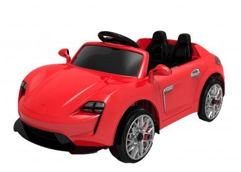 Детский электромобиль Porsche для детей от 1 года Tilly FL1718 EVA RED красный