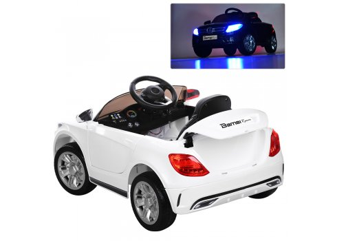 Детский электромобиль Mercedes на амортизаторах, M 2772EBLR-1 белый