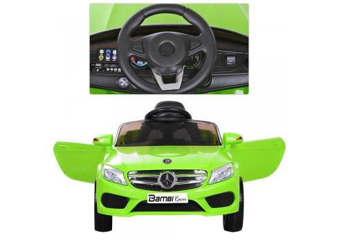 Детский электромобиль Mercedes на амортизаторах, M 2772EBLR-5 зеленый