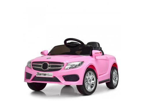 Детский электромобиль Mercedes на амортизаторах, M 2772EBLR-8 розовый
